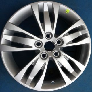 One 2012 2013 Ford Focus 16 Factory Wheel Rim Silver 3780 Nice