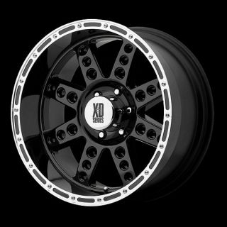 XD XD766 DIESEL FORD EXPEDITION F150 NAVIGATOR 18 WHEELS RIMS BLACK