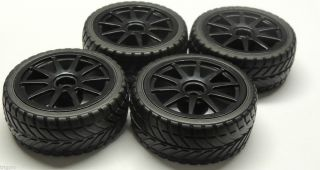 10 Wheels Tires Rims Kyosho Associated HPI K10 Wheel Tire Rim