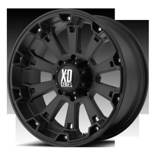 20 inch Black Rims Wheels XD Series Misfit XD800 20x9 XD800 Set of