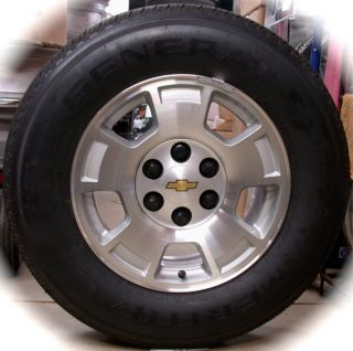 New 2012 Chevy Silverado Express 1500 Van 17 Factory OEM Wheels Rims