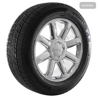 "20"" inch GMC Truck Chrome Rims Wheels Tires Package Yukon Denali ..."