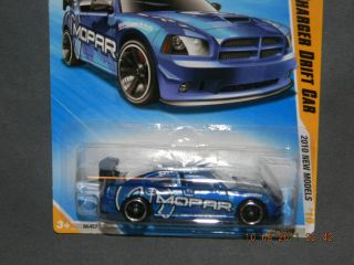 HW Hot Wheels 2010 New Models 43 44 Dodge Charger Drift Car Hotwheels