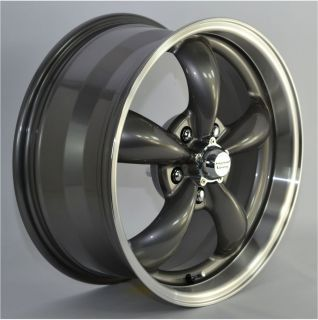 Charcoal Gray Aluminum 5 Spoke Wheels Rims for Ford Fusion 2010