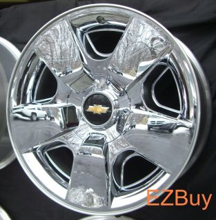 AVALANCHE SILVERADO TAHOE 2009 2011 NEW FACTORY CHROME WHEEL RIM 5417