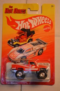 87 Toyota Truck Red Hot Ones RARE Hot Wheels 2012 P Case