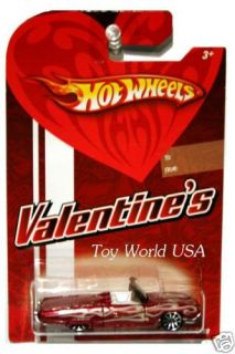 Hot Wheels 2009 Wal Mart Valentines 63 Ford T Bird