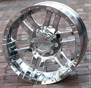 inch Chrome Wheels Rims FORD f250 f350 superduty truck 8 lug 1999 2011