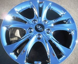 New 17 Factory Hyundai Sonata Chrome Wheels Rims 2011 13