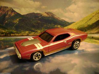 71 Plymouth GTX 2009 Hot Wheels Muscle Mania Series Purple