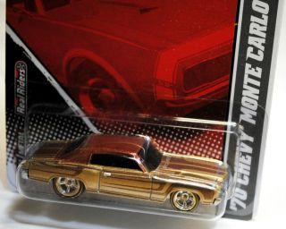 Hot Wheels 2011 Garage GM 1970 70 Chevy Monte Carlo Brown