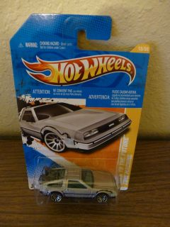 Hot Wheels 2011 Back to the Future Time Machine DeLorean NOC NIB Dated