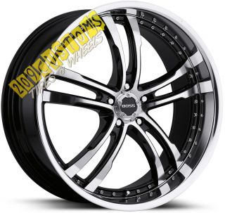 Boss Wheels 337 Rims Tires Dodge Nitro 2007 2008 2009 2010 2011