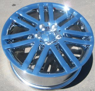 New 17 Factory Mercedes C300 C350 Chrome Wheels Rims 2008 12