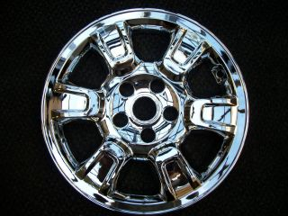 RTS 17 w 6 Raised Spokes Chromed ABS Wheel Skins 2006 2008