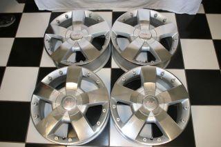 GMC Acadia 2007 2009 Factory Ultra Brite 19 Wheels Rims 5282 Set of 4