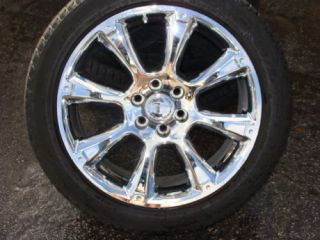 22 Cadillac Escalade Wheels Tires Sensors 2007