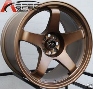 17x9 9 5 Rota P45R Wheel Rims 4x114 3 12mm Sport Bronze