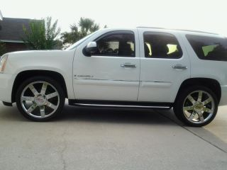 2008 GMC Yukon Denali 24 Wheels Rims Brilliant Chrome Finish Sierra