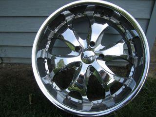 Gellyn wheel Model 127C chrome rim 5 bolt on 5 5 Dodge Ford Chevy rims