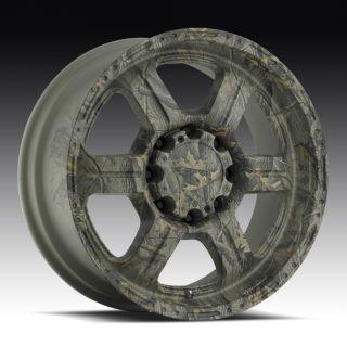 18 inch V Tec 326 AP Camo Wheels Rims 8x170 Excursion