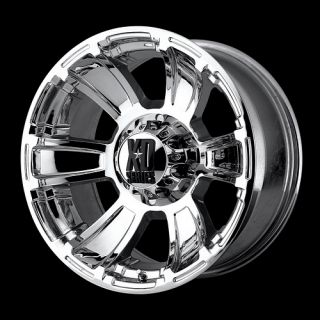 20 x 10 XD Revolver XD796 Chrome Wheels Rims 20 inch 6 8 Lug