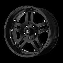 inch Jeep Wrangler JK Black Teflon 16x9 Rims Wheels 2007 2012