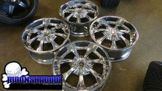 Tis Model 02 22 Chrome Wheels Rims Mercedes Benz s Class S550 22x9 5