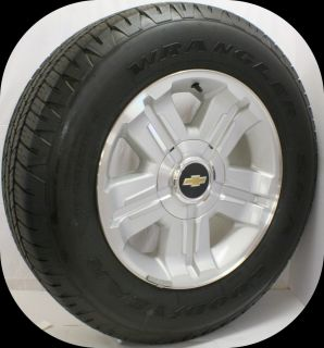 Chevy Silverado Suburban Avalanche Tahoe 2007 2013 18 Z71 Wheels Tires