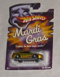2007 Mattel Hot Wheels Mardi Gras 99 Ford Mustang