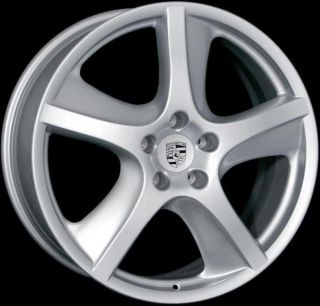 20x9 Turbo Style Wheels 5x130 Rims Fits Porsche Cayenne 2004 Present