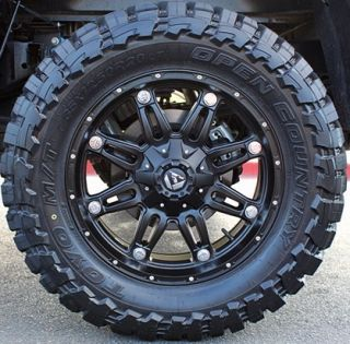 20 Fuel Hostage Rims 37x13 50x20 Toyo Open Country MT