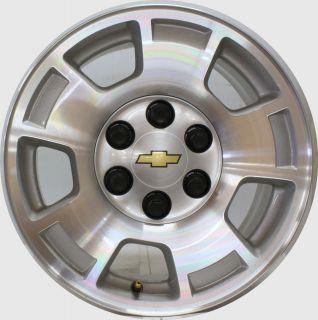 2007 2013 Chevy Silverado Suburban Tahoe OEM Factory GM 17 inch Wheels