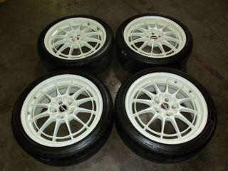 Toyota Supra Nissan 240SX Enkei Racing 5x114 17 Wheels 17 Inch Rims