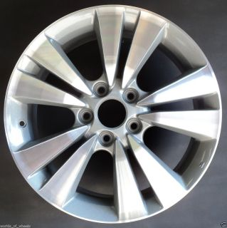 11 Honda Accord 17 5 Double Spoke Factory OEM Alloy Wheel Rim H 63938
