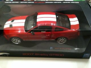 Hot Wheels 1 18 Diecast 2007 Shelby GT500 Ford Mustang