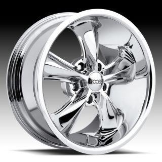 17 x 9 FOOSE Legend F105 Mustang Wrangler Lincoln Chrome Wheels Rims