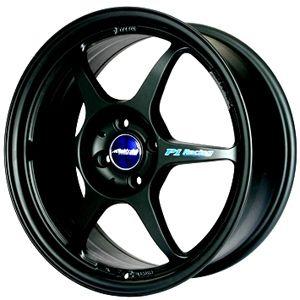 17 Buddy Club Black Rims Wheels Mini Cooper Miata Yaris