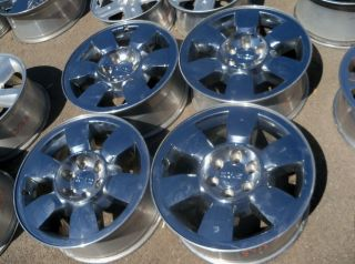 GMC Sierra Yukon Denali 20 Chrome Wheels Sale