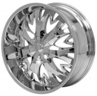 20 inch H8 Chrome Wheels Rim Chevy Silverado Tahoe 6LUG