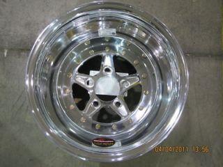 Billet Specialties Wheels Rims 15 x 12 Drag Comp 5 5x4 5