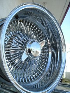 13 Chrome Spoke Lowrider Wire Rims Wheels Impala Buick