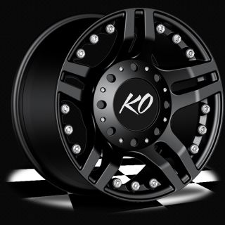 17 Black Rev Guillotine Wheels GMC Chevy Ford Truck SUV F 150