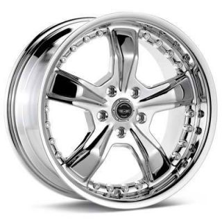 18 inch Ford Mustang Chrome 18x9 Rims Wheels 5x4 5 New
