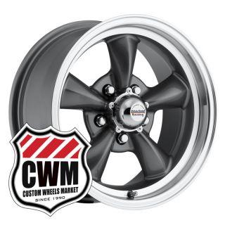 15x7 Gray Wheels Rims 5x4 75 Lug Pattern for Chevy Nova 1968