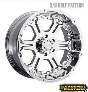 x10 715 Gear Alloy Recoil Chrome 6 8 Lugs Wheels Rims Free Lugs
