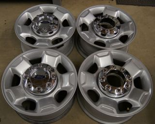 F250 F350 Super Duty 17 Factory OEM Wheels Rims 2005 13 TPMS Free Ship