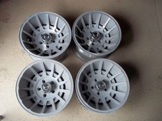 15x8 5 Western Wheels Cyclone Turbine Corvette Camaro Rims Trans Am