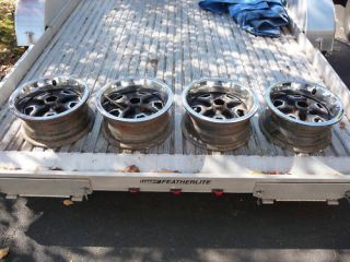 Buick Oldsmobile Wheels Set of 4 Rally Wheels 14