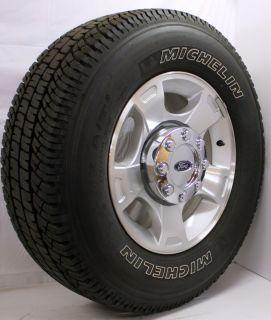 Off 2005 13 Ford OEM F250 F350 8 Lug 18 Wheels Rims Michelin Tires